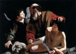 Carravagio Isaac sacrifice copy