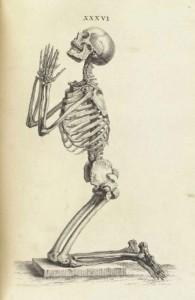 skeleton praying copy